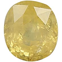 100% Natural Yellow Sapphire (Pukhraj/Guru) Certified Astrological Gemstone (3.28 CTS)