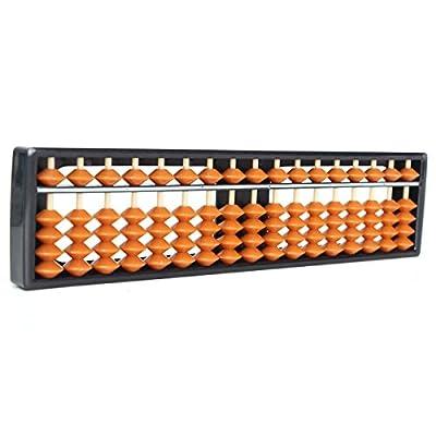 17cifre 5-beads plastica abaco Aritmetica Soroban per bambine Maths conteggio calcolo strumento by erioctry