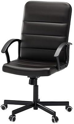 IKEA TORKEL - Silla giratoria, negro