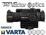 VECTOR-OPTICS RedDot Visière Tempest 1 x 35 Optique avec Fixation Picatinny/Weaver Rail