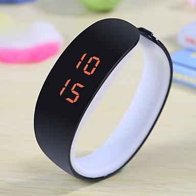 Schöne Uhren, Unisex frischen Farb-LED-Armband Plastikuhr