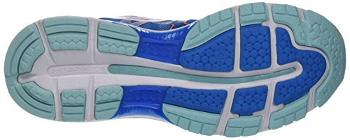 Asics Damen Gel-Nimbus 19 Laufschuhe, Blau (Diva Blue/flash Coral/aqua Splash)