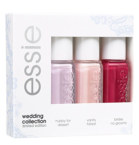 Essie Nagellack Mini Kit Wedding Collection, 1er Pack (3 x 15 ml)