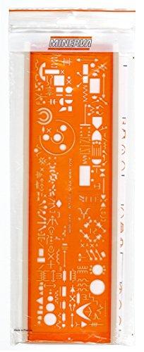 minerva-trace13a-trace-symbole-electrique-electronique-orange