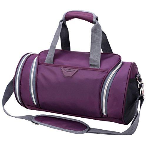 LAIDAYE Fitness Sporttasche Tragbare Schultertaschen Sporttasche Fitnesstasche Große Kapazität Handtasche 2
