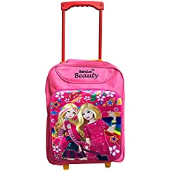 Batu Lee Princess 15 inch Pink Waterproof Trolley Hybrid Children's Backpack