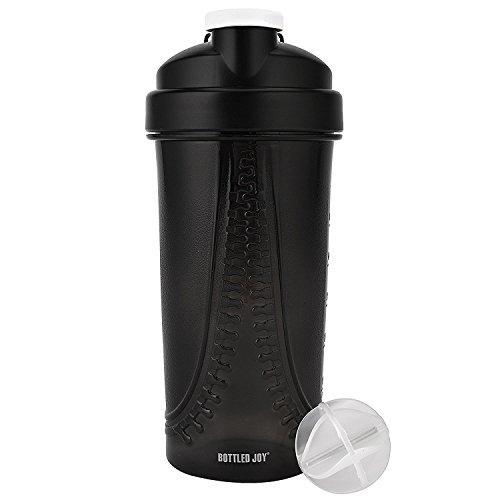 BOTTLED JOY Shaker Bottle for Protein Mixes LFGB