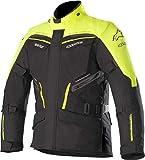Alpinestars Patron - Giacca da moto in Gore-Tex, taglia S, colore: Nero/Giallo
