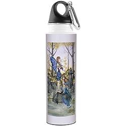 vb47562Amy marrón Fantasía Artful Traveler inoxidable botella de agua, 500ml, primos segundos de hada y sirena