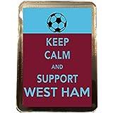 West Ham United F.C - Keep Calm Fridge Magnet