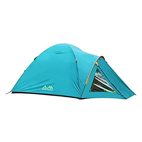 Arctic Monsoon Family Camping Dome Tent Starry T1, 2-3 Person Lightweight Waterproof Tent for Camping, Hiking, Backpacking, Picnic, Party Outdoor Indoor Use, 83*71*50 inch, Three