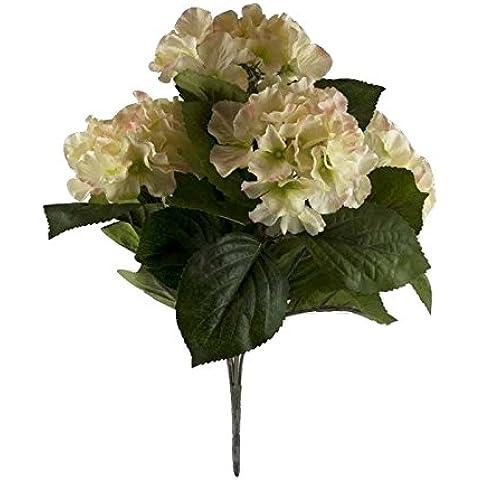 Better & Best 2911014 - Ramo de 5 hortensias artificiales, color blanco