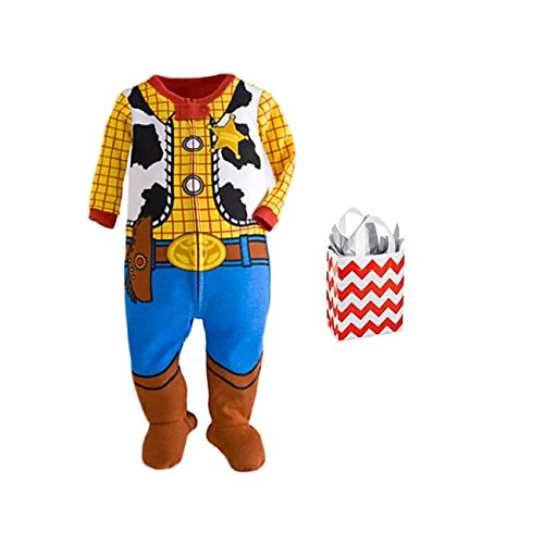 Woody Kostüm Baby - Disney Toy Story Baby Boys 'Woody