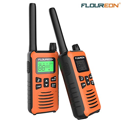 FLOUREON Ricetrasmittente Walkie Talkies per...