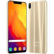 """Telefonia Mobile v·mobile XS pro (Display 5,85"""" HD Dual SIM 3800mAh 3GB+32GB Fotocamera 13MP Cellulari Economici Quad Core Android 7,0 Face ID/GPS WIFI FM 3G+ Smartphone Offerta Del Giorno (Oro)"""