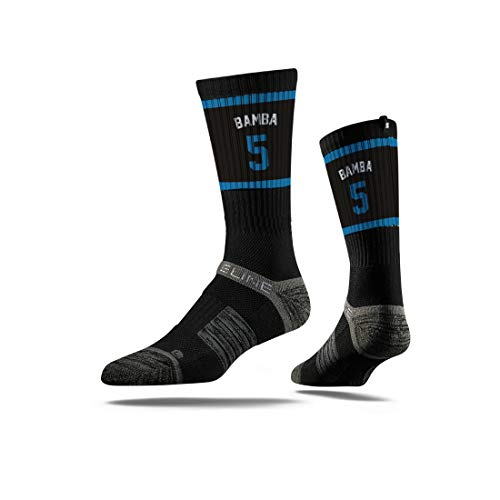 do Magic Mohamed Bamba Jersey Premium Athletic Crew Socks, Schwarz, Einheitsgröße ()