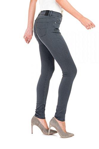 Salsa - Pantallons Colette skinny fit - Femme Gris