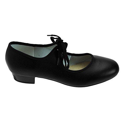 Black Encore Tap Shoes Low Heel