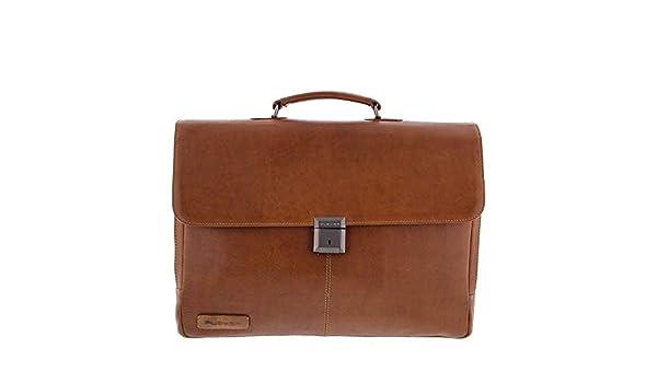 dedda0fd3b6 Plevier Decca Leren 2-vak Laptoptas 17,3 inch Bruin: Amazon.de: Koffer,  Rucksäcke & Taschen