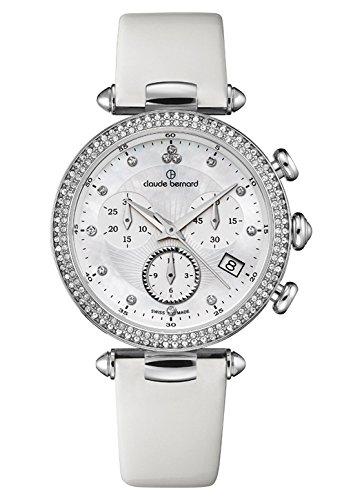 Claude Bernard Women's Quartz Watch with Date Dress Code Chronograph Quartz 102303Nan