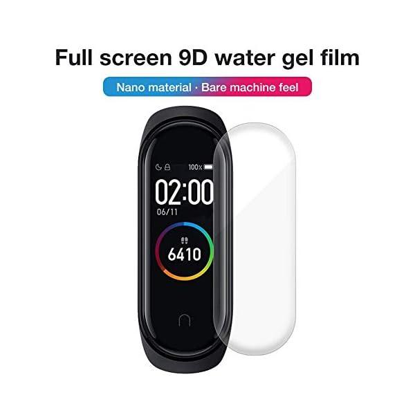 Jiadi M4 Smart Bracelet Fitness Tracker, IP67 Impermeable Monitor de Ritmo cardíaco dinámico Podómetro Banda Inteligente… 2