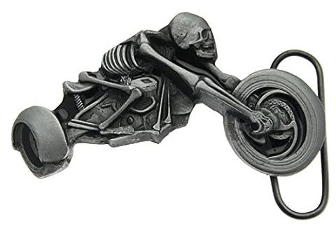 Boucle de ceinture Skeleton Trike Rider en un de mes présentation en coffrets.