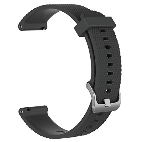 Skryo Silicone Sports Replacement Watch Band Wrist Strap For Weekender/Expedition-Silikon Sport Ersatz Uhrenarmband für Weekender/Expedition (Gray) (Weekender Uhrenarmbänder)