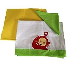 Babykleidung Kinderbett Teletubbies rot Po Set Bett Bettwäsche und Kissenbezug