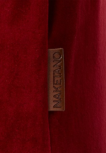 Naketano Male Sweatshirt Asgardian Mack III Bordeaux