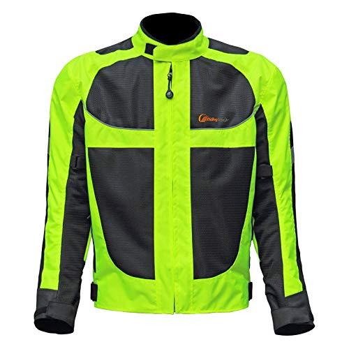 nnn Giacca Moto Uomo con Protezioni Abbigliamento da Motociclista Resistente all'Usura Locomotiva Traspirante Mesh Suit off Road Suit,XXXXL