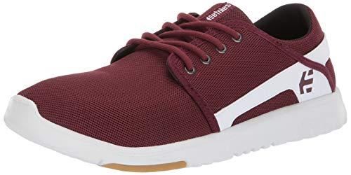 Etnies Herren Scout Sneaker, Rot (629-Maroon/White 629), 43 EU(9 UK)