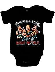 Body bebé Metallica Baby Metal bebé