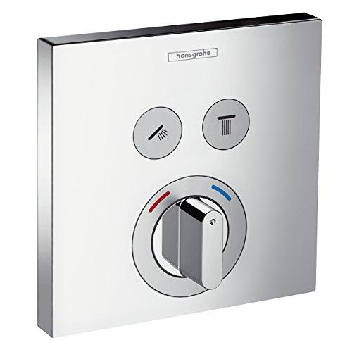 Hansgrohe 15768000 ShowerSelect grifo empotrado, cromo, 2 salidas
