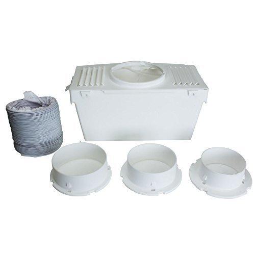 Qualtex - Kit Tuyau Evacuation de la Condensation Interne Kit Compatible Sèche-Linge AEG Zanussi
