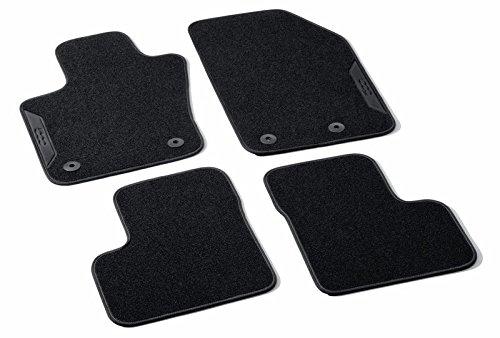 Tapis de sol pour Fiat 500 x Set avec logo 500 en Noir