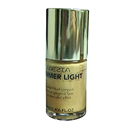 Arezia Shimmer Pearl Light Gold Makeup Base Primer ( 12ml