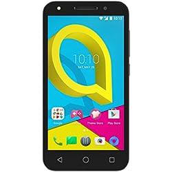 Alcatel U5 Smartphone, (12,7 cm (5 Pouces) Écran, mémoire 8 Go, Android 6.0) Noir/Gris