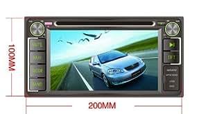Pino Pour Daihatsu Terios Eco 2006-2012 6.2 Pouces HD ¨¤ ¨¦cran tactile au tableau de bord lecteur DVD Syst¨¨me de navigation GPS Support avec commandes au volant + Support iPod iPhone + Bluetooth + FM