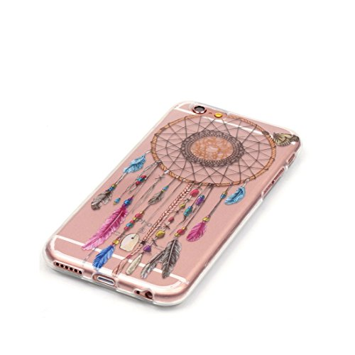 iPhone 6S Custodia,Patate Elfo Custodia in TPU Gel Ultra sottile [Trasparente] Custodia protettiva in gomma flessibile case cover para for iPhone 6 / 6S 4.7inch colour .8