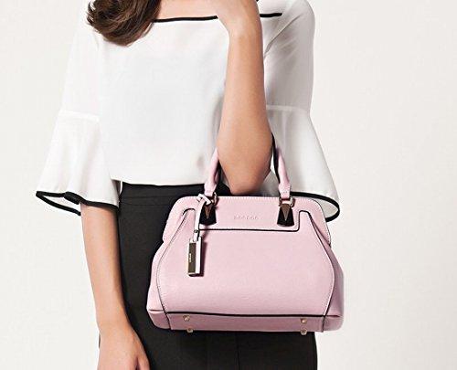 Handtaschen Einfache Schulter Messenger Tasche Rosa