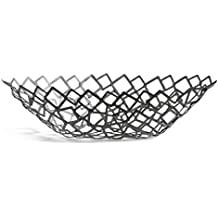 Philippi Crescent Ovalado Acero Metálico cesta para servir - cestas para servir (Ovalado, Acero, Metálico, 490 mm, 240 mm, 125 mm)