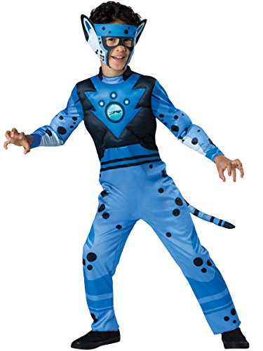 Cheetah - Blue Costume, One Color, 4 (Wild Kratts Kostüme)