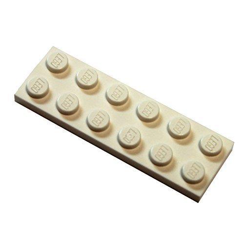 LEGO City - 20 Weisse Bauplatten mit 2x6 Noppen
