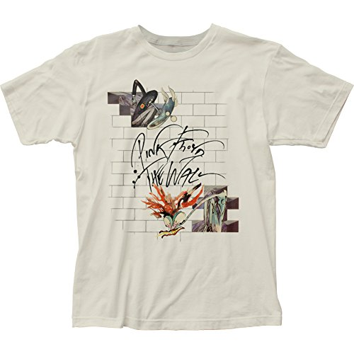 Pink Floyd Mens The Wall Wife & Teacher T-Shirt Large