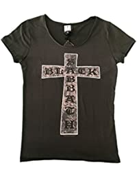 Black Sabbath Cross Amplified Ladies Official T Shirt Brand New Various Sizes