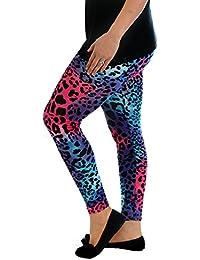 New Womens Leggings Ladies Plus Size Snake Abstract Full Length Trouser Nouvelle