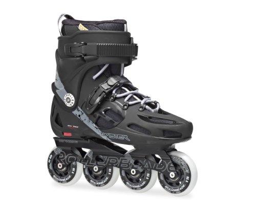 rollerblade-twister-80-pattini-in-linea-taglia-425-nero-grigio-scuro