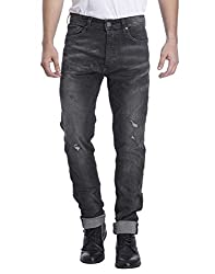 Jack & Jones Men Casual Jeans (5713022345145 Black Denim 36W x 34L )