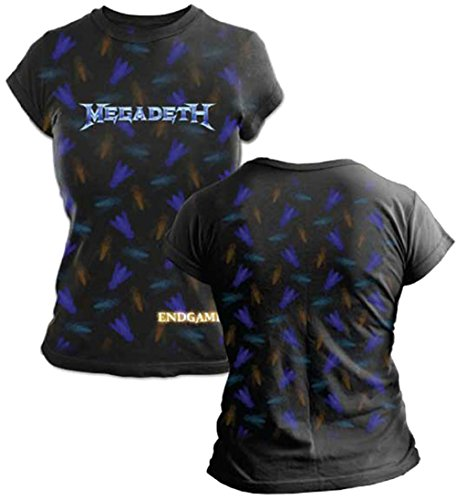Megadeth T-shirt G3 Fly Juniors Tissue Tee-xl