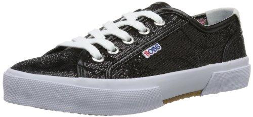 Skechers Le Club 85699L Mädchen Sneaker Schwarz (Blk)